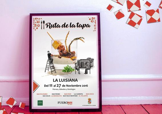 Pablo Pavón - CARTEL II RUTA DE LA TAPA