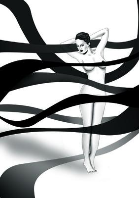 Pablo Pavón - BLACK AND WHITE WOMAN
