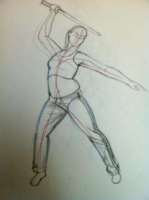 Montana Jade - Sketch, curve