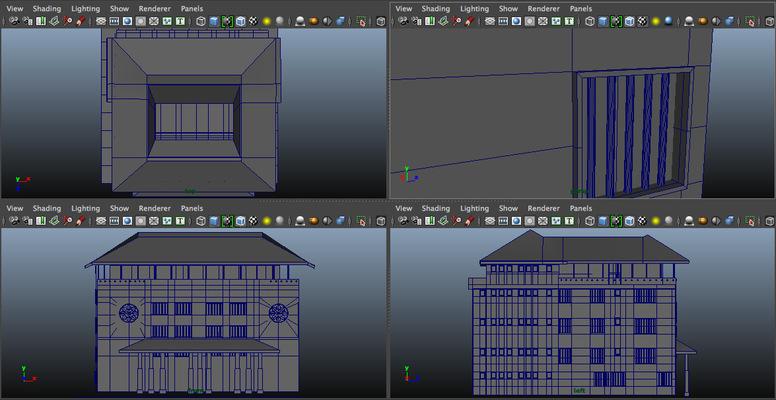 Montana Jade - 3D House Model. Maya 2015