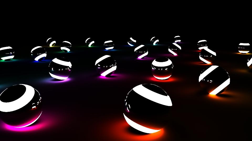 Montana Jade - Using Arnold aiStandard materia. Creating self illuminating lighting set ups.