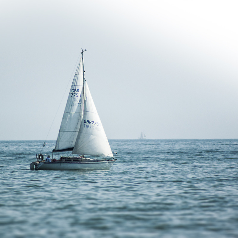 Creative Bytes Images - Sailing Boat on the Sea