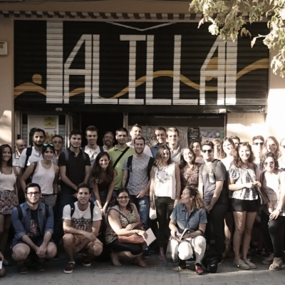 fent estudi - DE LA UNIVERSITAT A LA CIUTAT. Barri de Malilla, València, 2015-2016