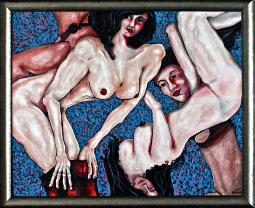 Rawin.artworks - 'These women' Oil on canvas. 120x150 cm.