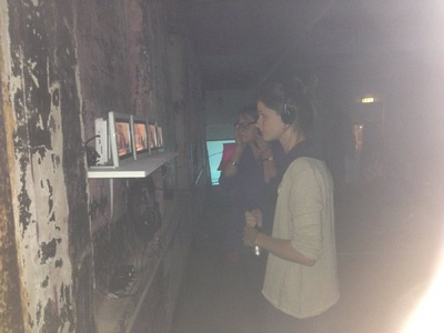 Rawin.artworks - The exhibition in Bargehouse, OXO TOWER, London.