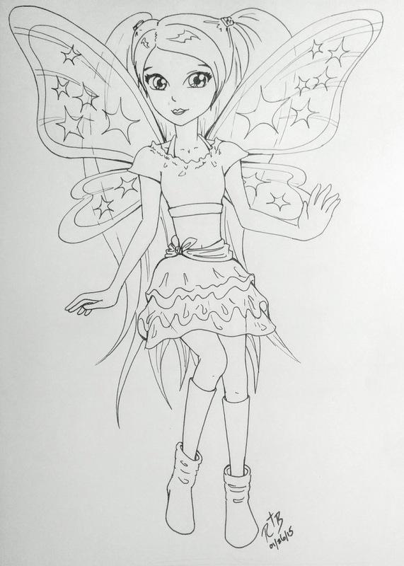 Rachael Birky - manga / portrait