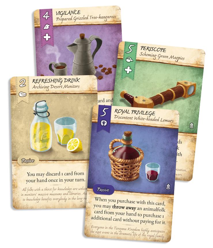 Jesus Delgado Illustration - Ilustraciones para el juego Dale of Merchants 3, de Sami Laakso (Snowdale Design)