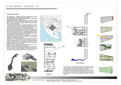 | NAVA | Shahin - The Village Building-Design Project