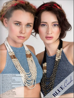 Holly Grace Fashion Stylist - Blue Crush Fashion Observer Magazine June Issue 2016