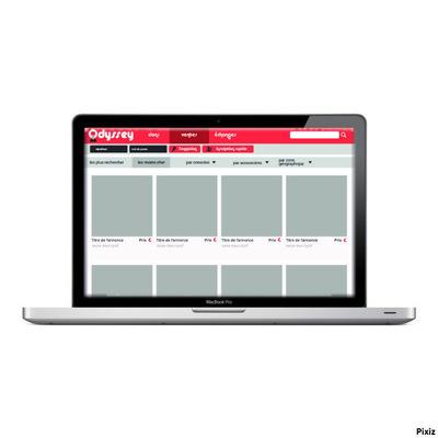 Ludovic Graphicbook - Page vente (non-connecté).