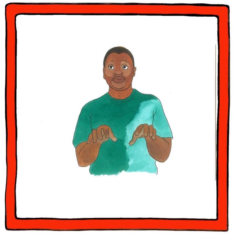 Maaike Boven - gebaar kikker