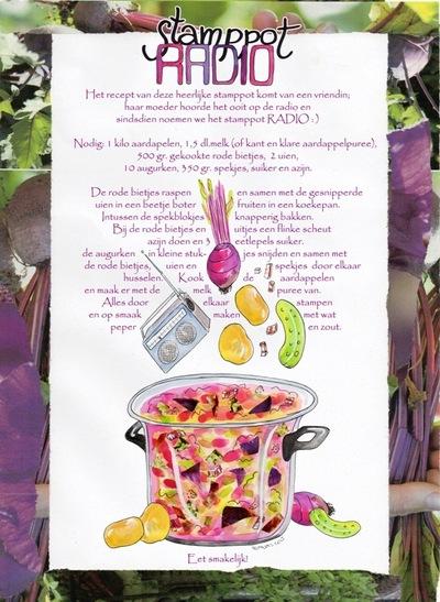Maaike Boven - illustratie voor ROBIN magazine