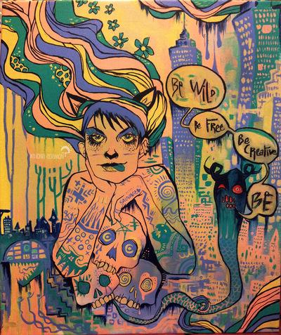 Charline Mahroug - Be Wild Be Free Be Creative Be