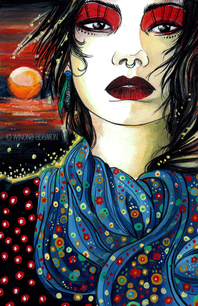 Charline Mahroug - Soleil Levant