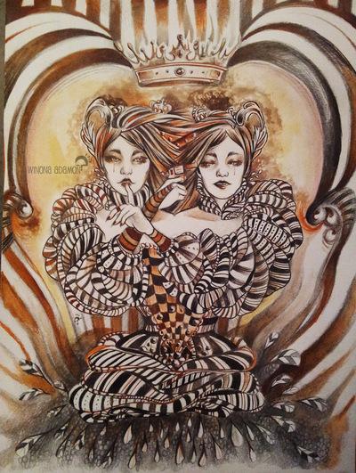 Charline Mahroug - Suicide Fratricide - Sororicide - Version 2