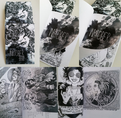 Charline Mahroug - INKtober 2014-2015