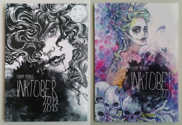 Charline Mahroug - INKtober 2014-2015 + INKtober 2016