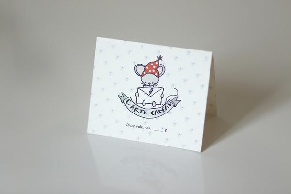 Mathilde Cabanas - Gift Card Pois Plume