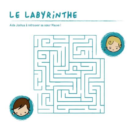 Mathilde Cabanas - Illustrations cahier de jeux et conte Petit Bateau