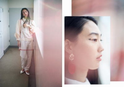 Junko Komada MAKE UP& HAIR - french fries magazine