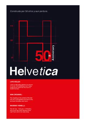 Ricardo Mejía - Cartel Helvetica