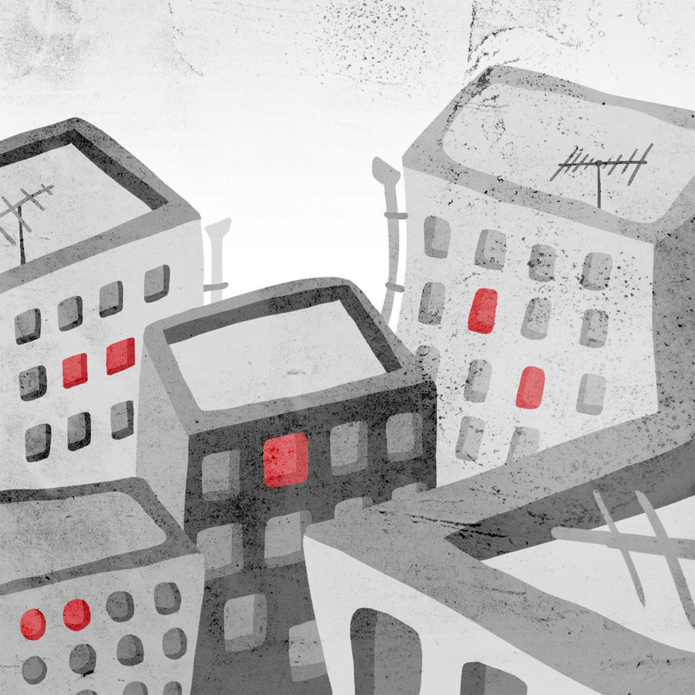 yevtushenko - An illustrated essay on Azerbaijan urban renewal that causes forced displacement.