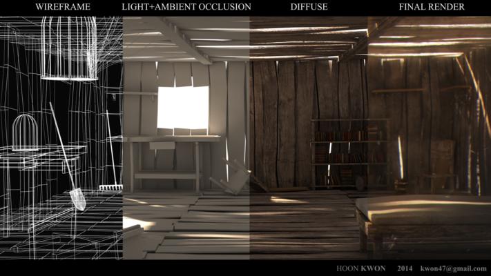 Hoon Kwons portfolio - Making of Old Hut