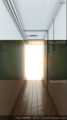 Hoon Kwons portfolio - Making of Corridor