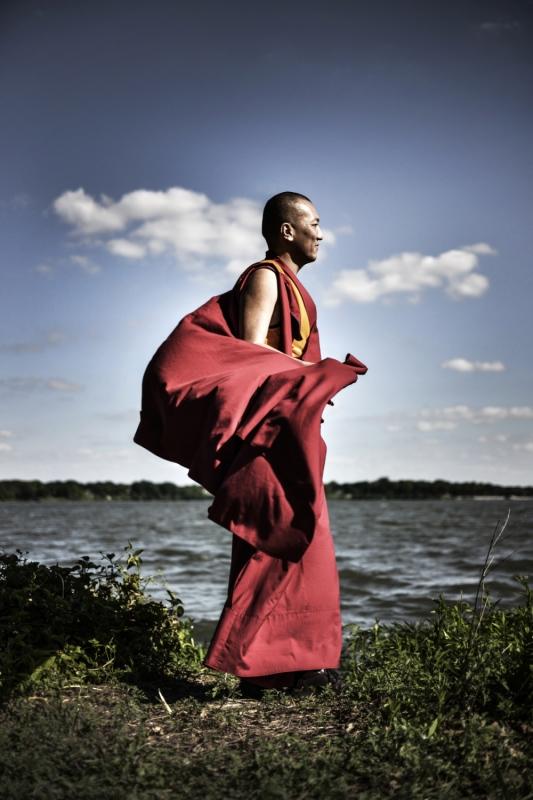 Can Turkyilmaz - Precious, Tibetan monk