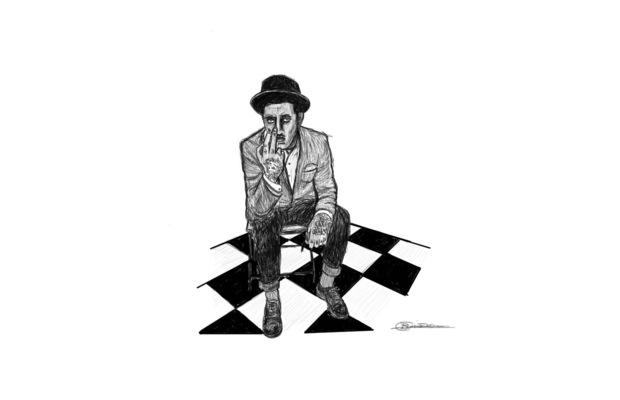 charlesbuissonpeintures - Série Rockabilly Dessin 2