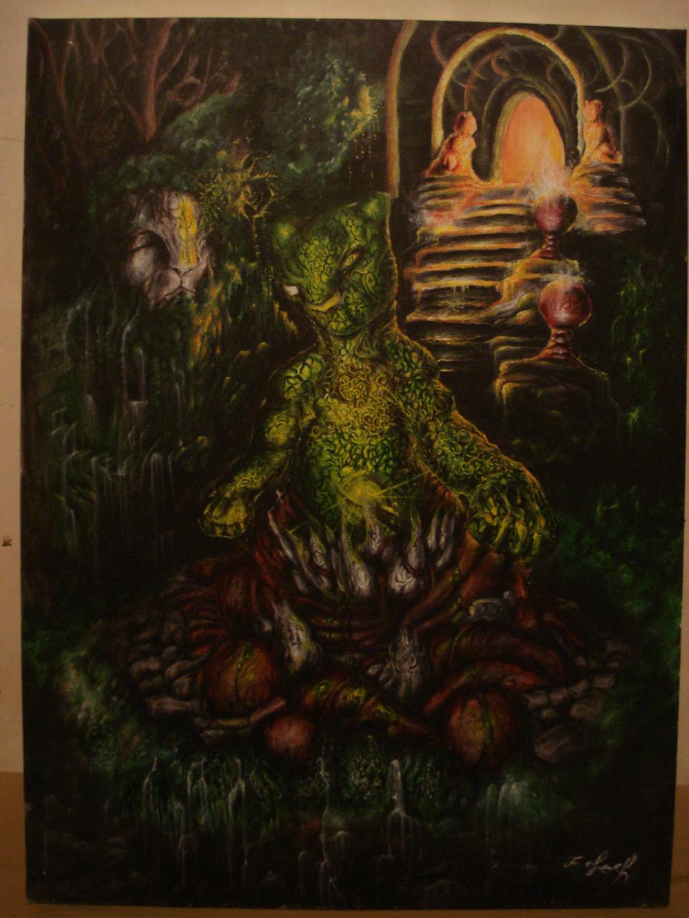 Toile du fantasme - Le seigneur de jade