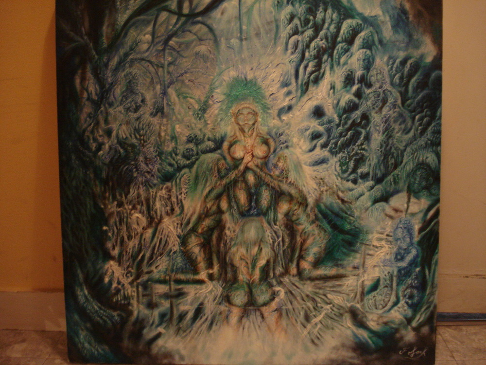 Toile du fantasme - Chimérique rituel