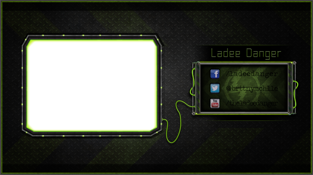 Licunatt Design - Commissioned by: LadeeDanger Type: 1 Screen Overlay
