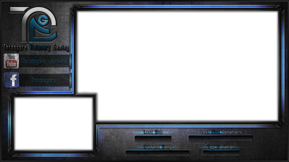 Licunatt Design - Commissioned by: Throbgore Type: 2 Screen Overlay