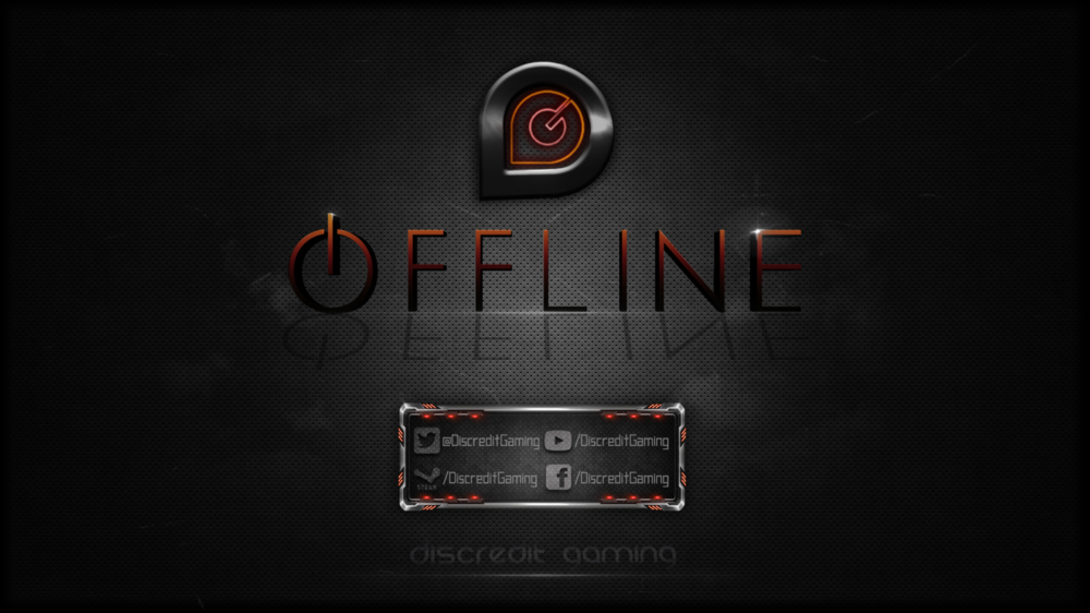 Licunatt Design - Commissioned by: Discredit Gaming Type: Offlne Screen