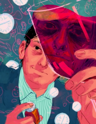 megan wood illustration - Martin Shkreli