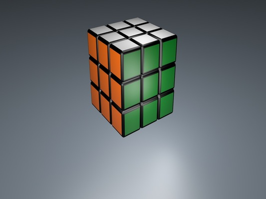 Antoine Aubry creation - Rubiks cube