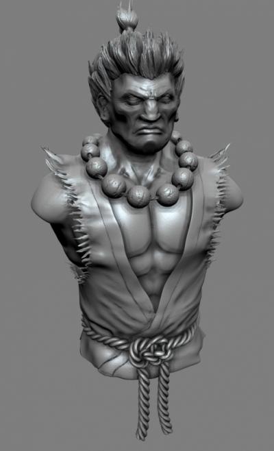 Jose Olivas- 3D art - Akuma