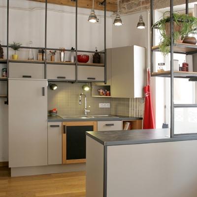 Veronique Ducommun - Réaménagement dune cuisine