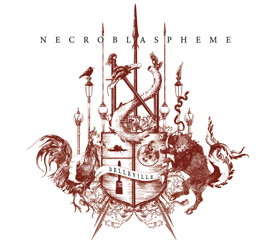 DEHN SORA - Necroblaspheme - Belleville CD - 2015