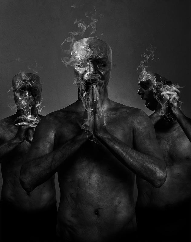 DEHN SORA - Blut Aus Nord / New Noise Magazine cover 2017