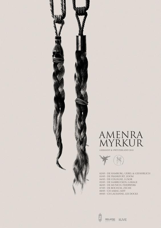 DEHN SORA - Amenra tour poster 2018
