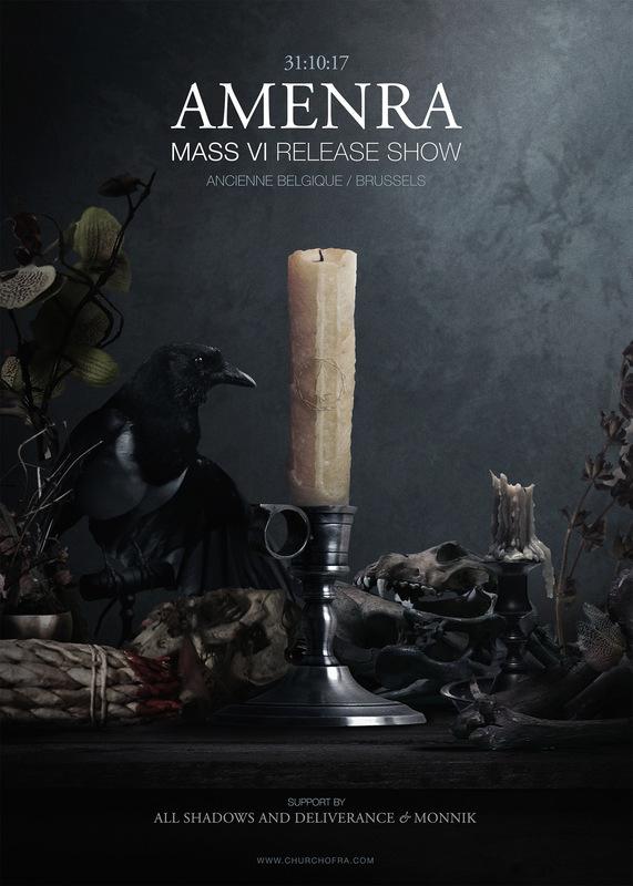 DEHN SORA - Amenra / Mass VI release show poster 2017