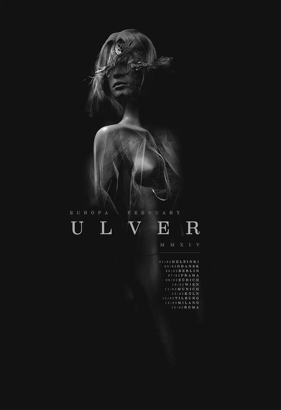 DEHN SORA - Ulver Tour poster 2015
