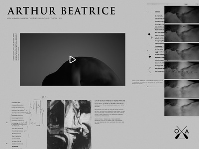 Studio Moross - Arthur Beatrice Carter Website