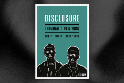 Studio Moross - Disclosure Posters T5