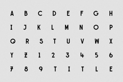 Studio Moross - FIN Typeface