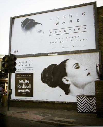 Studio Moross - Redbull Jessie Ware Billboard