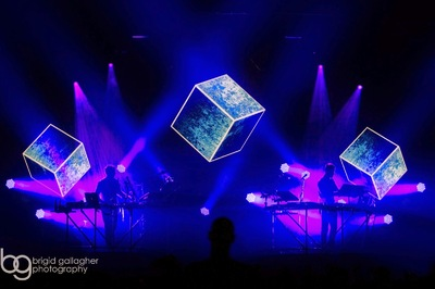 Studio Moross - Disclosure Live Visuals 2014