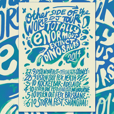 Studio Moross - TEED Otherside of the World Tour Poster